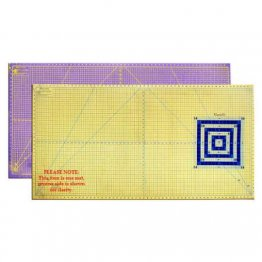 Martelli Rotary Cutting Mat Two Colour Contrasting - Large