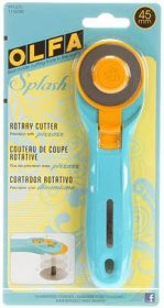 45mm Olfa Splash Rotary Cutter Aqua