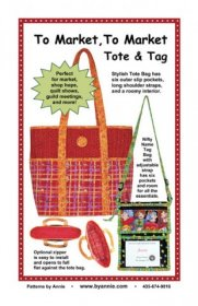 To Market, To Market Tote & Tag Bag Pattern - By Annie