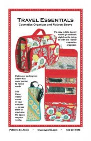 Travel Essentials Bag Pattern - By Annie