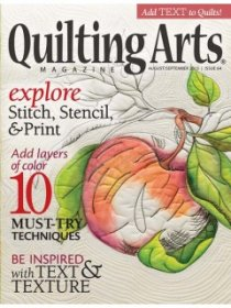 Quilting Arts Magazine - August/September 2013
