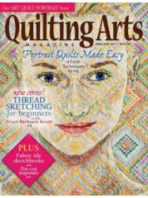 Quilting Arts Magazine - April/May 2014