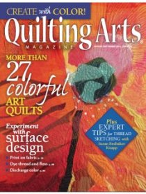 Quilting Arts Magazine - August/September 2014