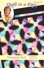 Pineapple Quilt Pattern - Quilt in a Day