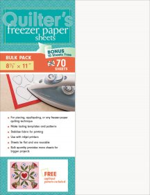 Quilter's Freezer Paper Sheets - 70/pkt