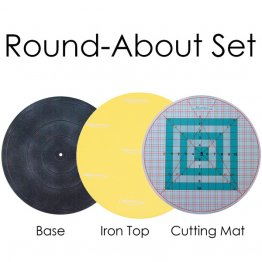Martelli RoundAbout Cutting Mat, 3-piece set.