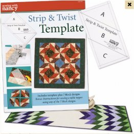 Strip & Twist Template and Project Book