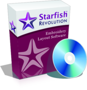 Starfish Revolution - Embroidery Layout Software