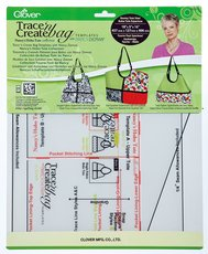 Trace 'n Create Bag Templates Nancy's Hobo Tote Collection by Clover