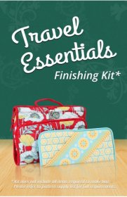 Travel Essentials Bag Pattern Finishing Kit- By Annie