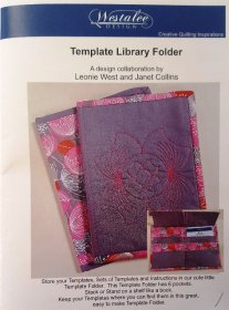 Template Library Folder Pattern by Westalee Design