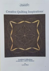Creative Quilting Inspiration - London Collection - Flying Bell Curve Triangle