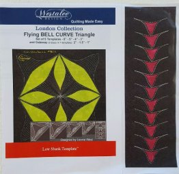London Collection - Flying Bell Curve Triangle Set