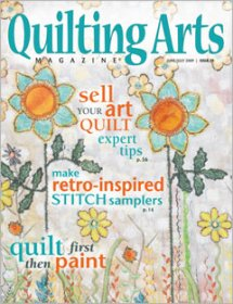 Quilting Arts Magazine - Issue 39 June/July 2009