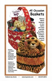 All Occasion Baskets Pattern - By Annie