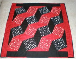 Black and Red Star Quilt Pattern - The Sewing Revolution