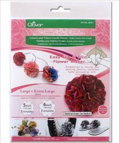 Flower Frill Templates - Large and Extra Large by Clover