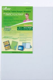 Pre-Cut Tablet Keeper Shapers Large Set by Clover