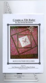 Create-a-Tilt Ruler by The Sewing Revolution