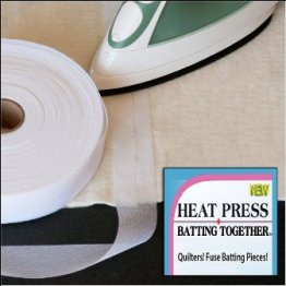 HEAT Press Batting Together - White 100yd