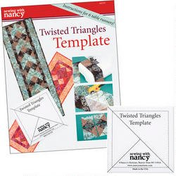 Twisted Triangles Template and Project Book