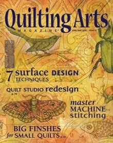 Quilting Arts Magazine - Issue 32 April/May 2008