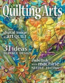 Quilting Arts Magazine - Issue 33 June/July 2008