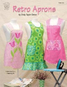 Retro Aprons by Cindy Taylor Oates