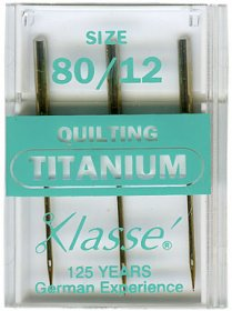 Titanium Quilting Needles
