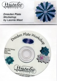 Westalee Dresden Plate DVD - 3 Part Workshop + Patchwork Tips & Techniques