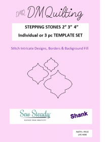 DM Quilting – Stepping Stones Template