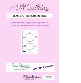DM Quilting - Leaflets Template