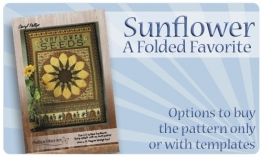 Folded Favorites - Sunflower - Phillips Fiber Art