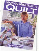 10-20-30 Minutes to Quilt Book