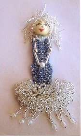 Mimi the Mermaid Brooch