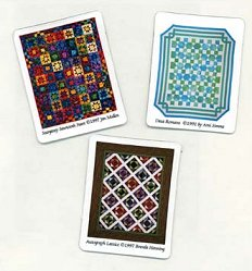 Refrigerator Magnets from Magnetic Quilts