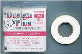 Design Plus ™ Super Fine STRAIGHT Fusible Stay Tape