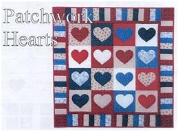 Patchwork Hearts Kit