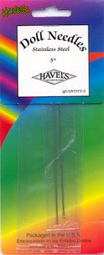 Doll Needles - 3 inch by Havel's 181-3