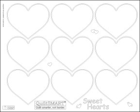 Quiltsmart Sweet Hearts