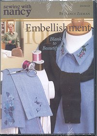Embellishment 101 - Blank to Beautiful by Nancy Zieman
