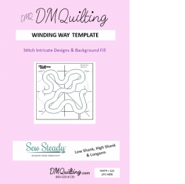 DM Quilting – Winding Way Template