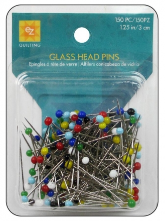 EZ Glass Head Pins