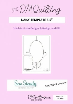 DM Quilting – Daisy Template