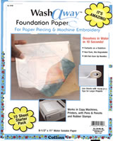 WashAway™ Foundation Paper by Collins